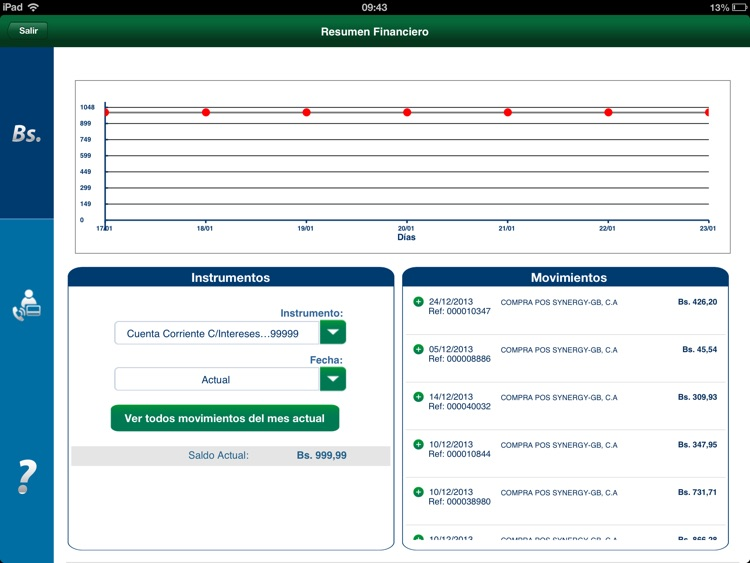 Banesco Móvil for iPad screenshot-4