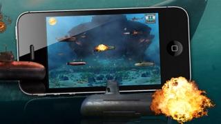 怒っバトル潜水艦 - 戦争潜水艦ゲーム!のおすすめ画像1