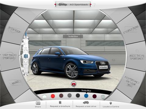 New Audi A3 screenshot two