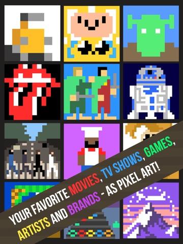 Pixel Pop - Гадание игру музыки, икон, фильмов и брендов для iPad