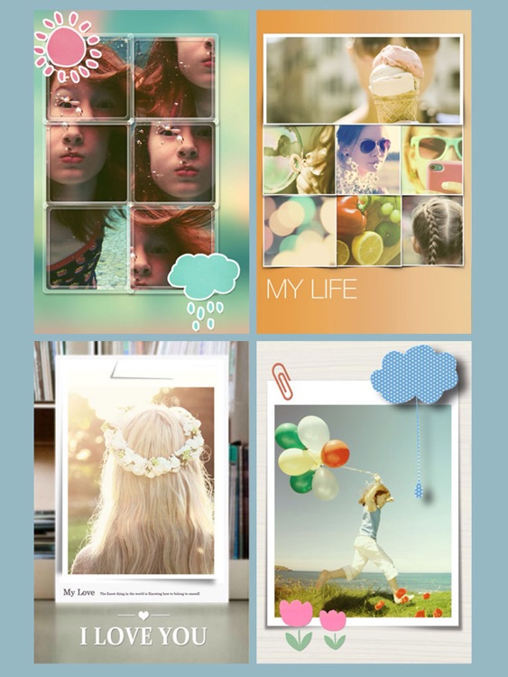 Photo Slice HD Free - Cut your photo into pieces to make great photo collage and pic frame screenshot-4