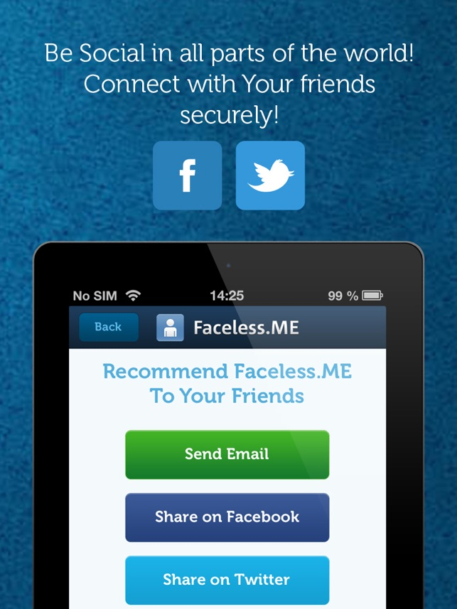 ‎Faceless VPN Connection Screenshot