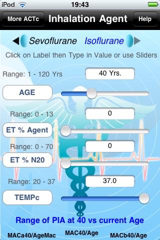 Anesthesia Clinical Tutor & Calculator (ACTc) screenshot-4