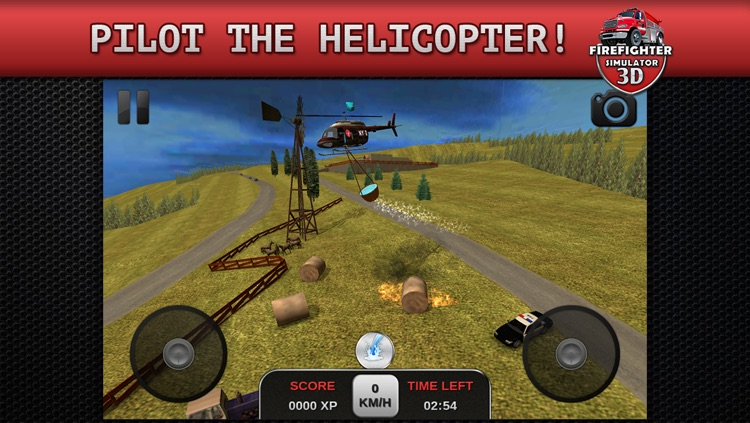 Firefighter Simulator 3D screenshot-4