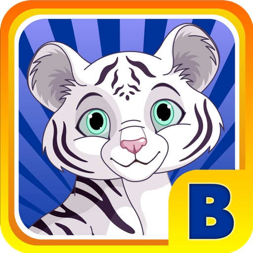 Baby White Tiger Bounce : Sky Dash with Mittens the Super Sonic Cub