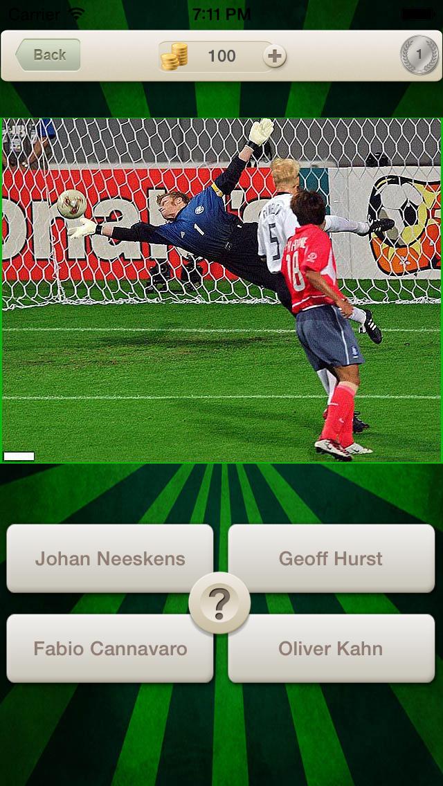 Legend Football Quiz :  World Hero Player Soccer 2014 Guess