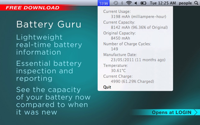 Battery Guru Screenshot