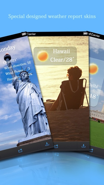 Weathergram -Record Real-time Weather in Your Photo screenshot-4