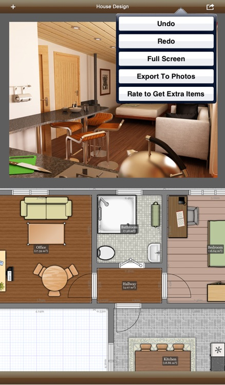 Interior Design 3D- floor plan & home calculator screenshot-1