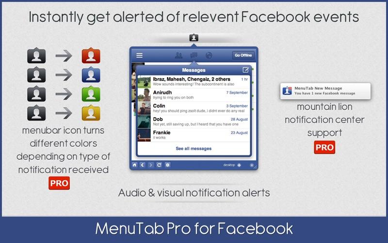 MenuTab Pro Screenshot