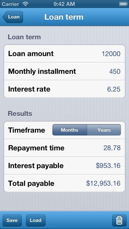 Loan Calculator - Auto, Bank, & Personal Loans screenshot-2