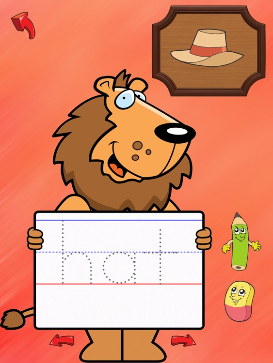 ABC Tracer with words and phonics free - HD