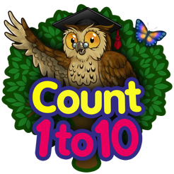 ‎Count 1 to 10 - Mrs. Owl's Learning Tree