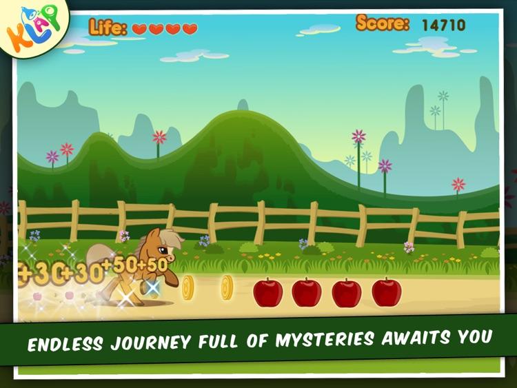 Pony Dash HD by KLAP screenshot-4