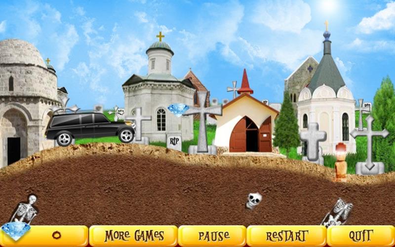 Halloween Racer Free screenshot 1