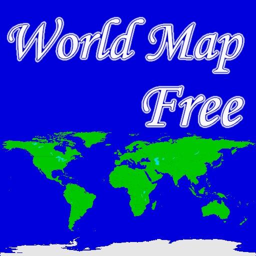 World Map Free for iPad