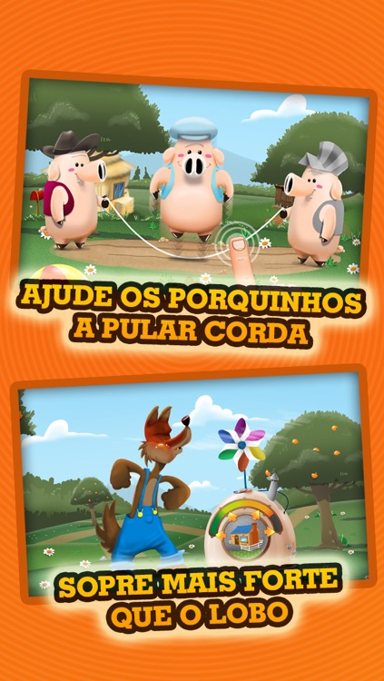 Os Três Porquinhos - História & Jogos