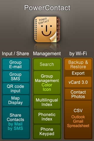 PowerContact (Contacts Group Management with Color & Icons) Screenshot 2