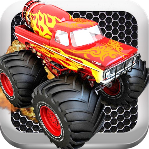 Monster Truck Furious Revenge - A Fast Truck Racing Game! icon
