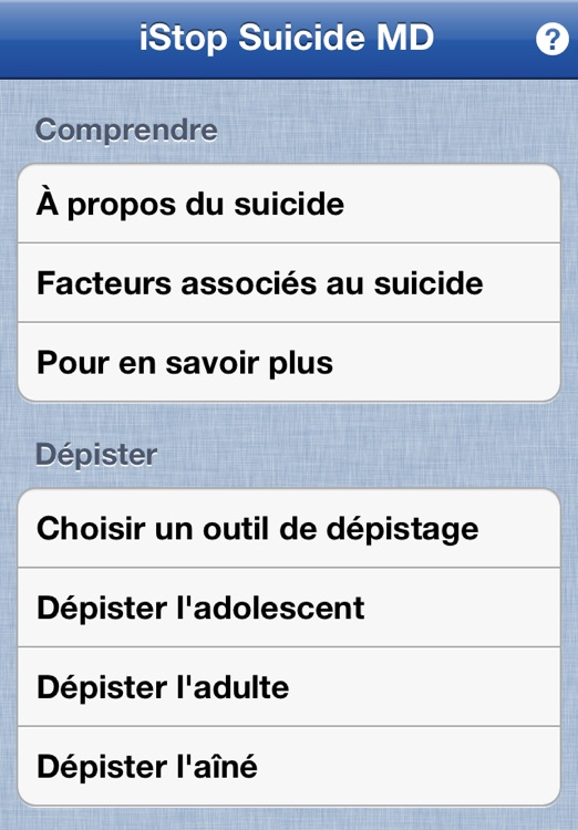 iStop Suicide MD