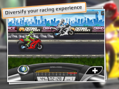 Screenshot #1 for Drag Racing: Bike Edition