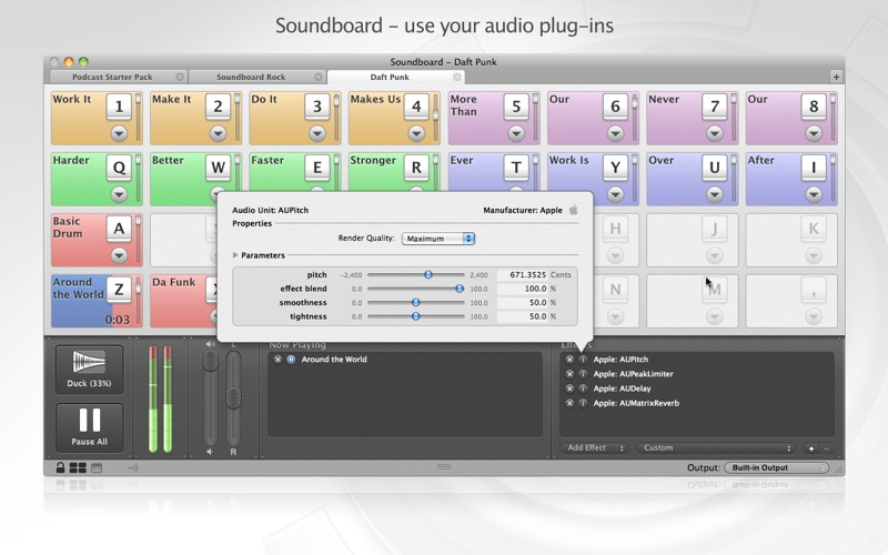 Soundboard Screenshot