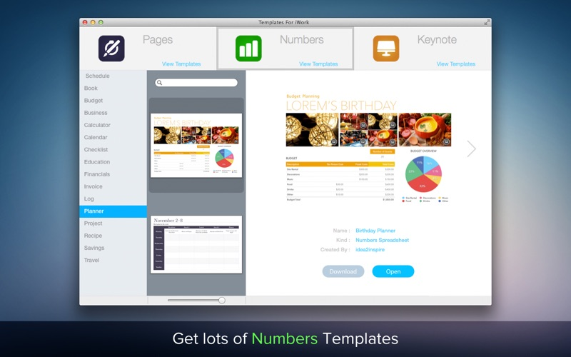Templates For iWork | App Price Drops