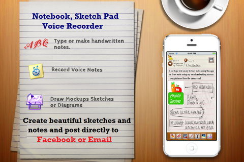 Voice Notes. screenshot 1
