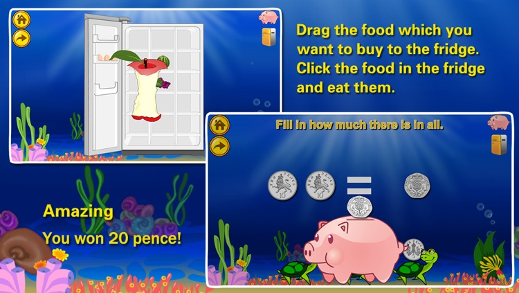 Amazing Coin(GBP£): Educational Money Learning & Counting games for kids FREE screenshot-4