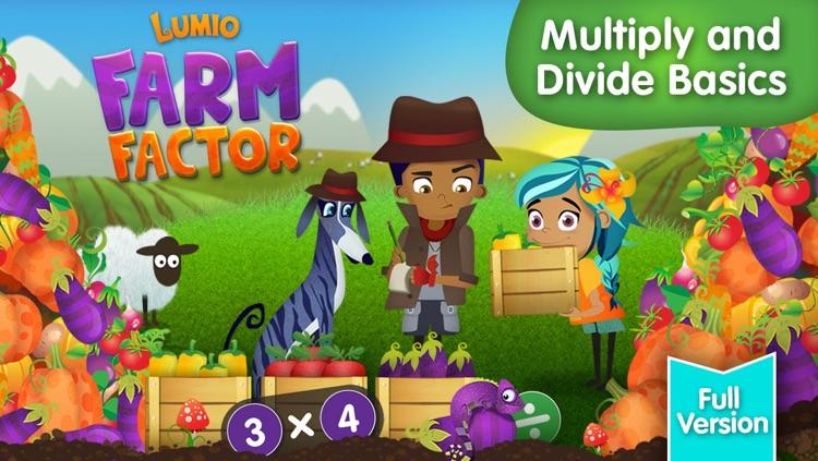 Lumio Farm Factor: Multiply and Divide Basics (Full Version)