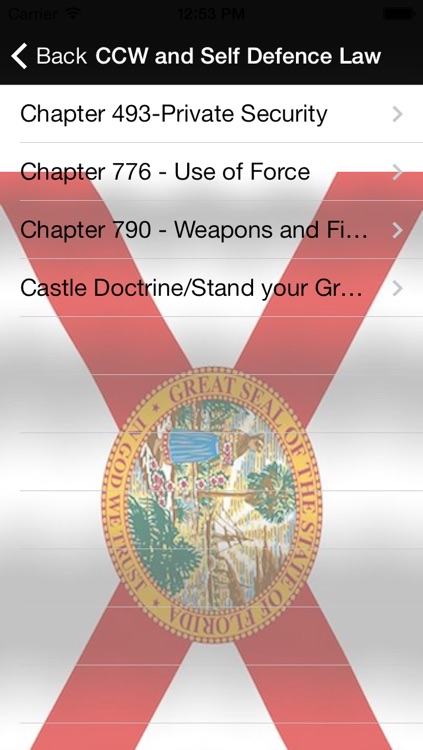 Concealed Carry Florida ( CCW FL ) Eligiblity,Application,Laws screenshot-4