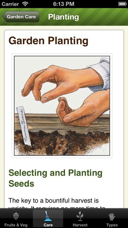 Essential Garden Guide Lite - Grow Perfect Vegetables & Fruits screenshot-3