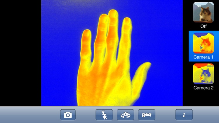 Thermal Live Camera Effect