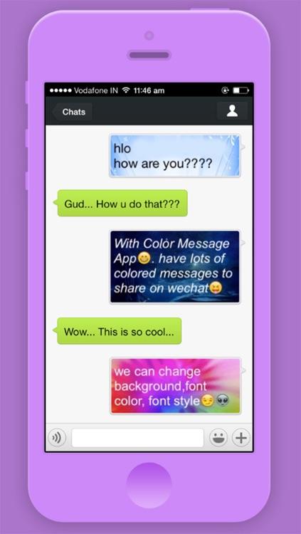 Chroma TeXT - Pimp Your Message with Unique Colors and Fonts