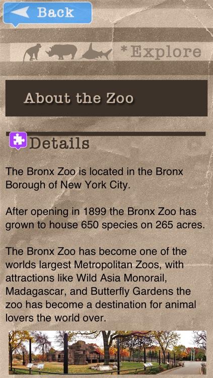 Zoo Explorer - Bronx Zoo screenshot-3