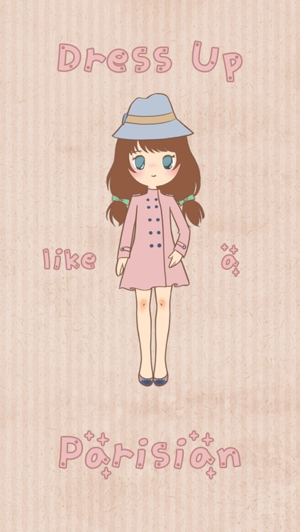Paris Chic: Cute Dress Up Game screenshot-1