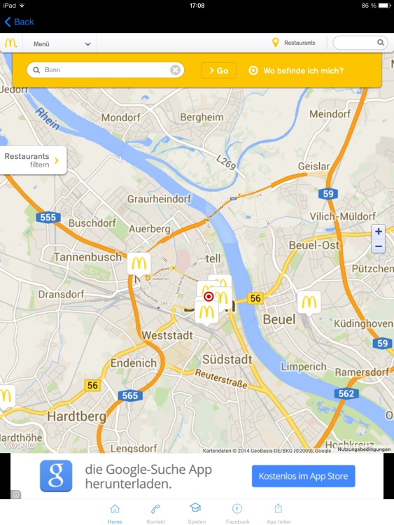 McDonalds Bonn Coupons Gutscheine screenshot-2