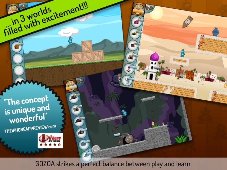 GOZOA - Play & learn math lite screenshot-3