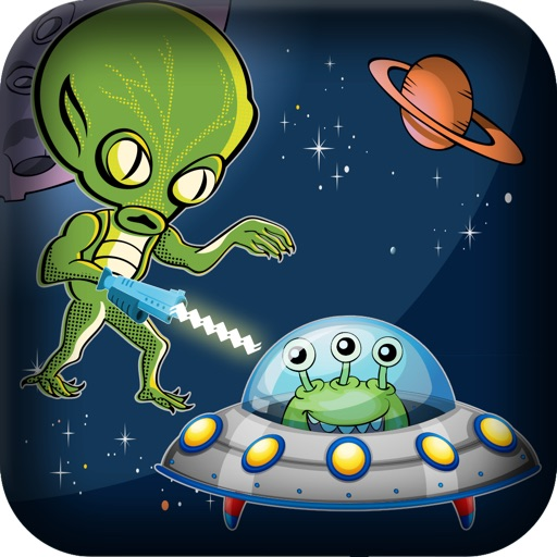Alien Spaceship Laser Shooting Attack - Space Invasion Hunting Shootout Pro