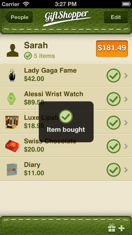 GiftShopper screenshot-1