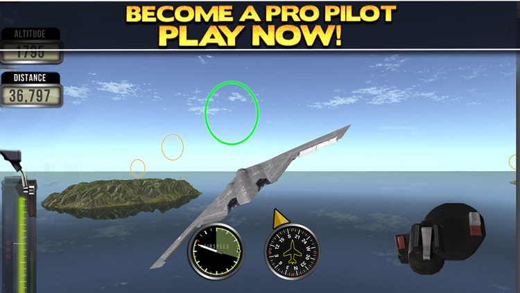 3D Plane Flying Parking Simulator Game - Real Airplane Driving Test Run Sim Racing Games screenshot-4