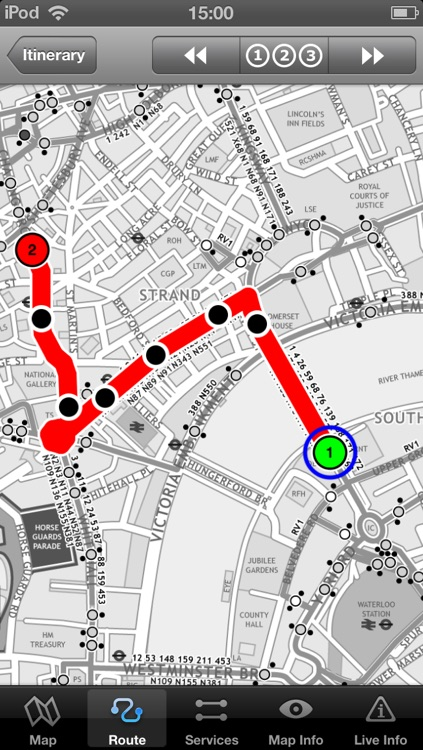 London Bus - Map and route planner by Zuti screenshot-0