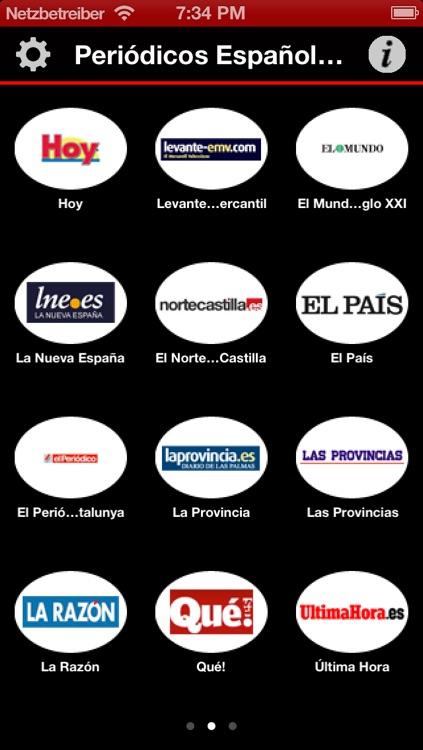 Periódicos Españoles - España Noticias - Spanish Newspapers
