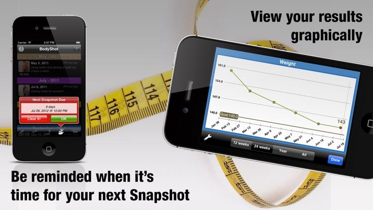 BodyShot - Before & After Photo, Weight, BMI Tracker screenshot-4