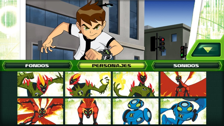 Ben 10: Creador de Comics screenshot-1