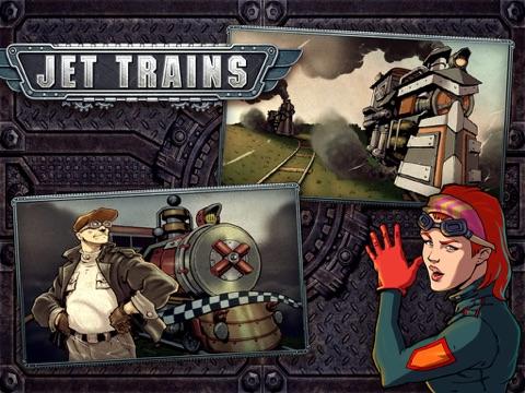 Jet Trains на iPad
