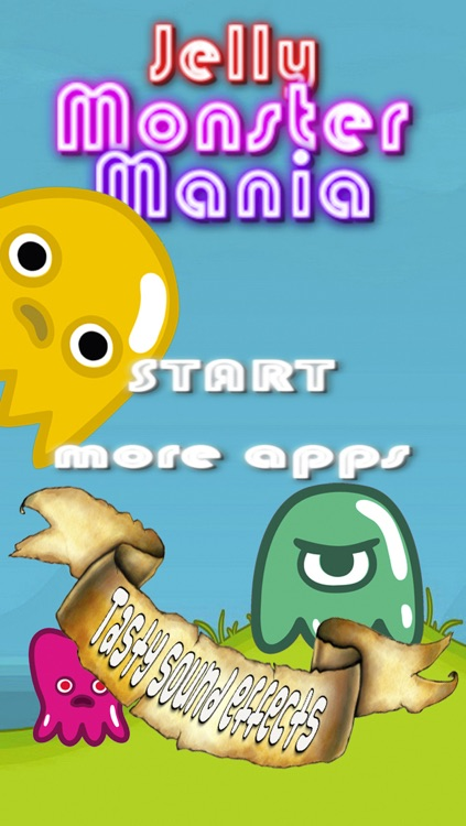 Jelly Monster Mania - A line match game