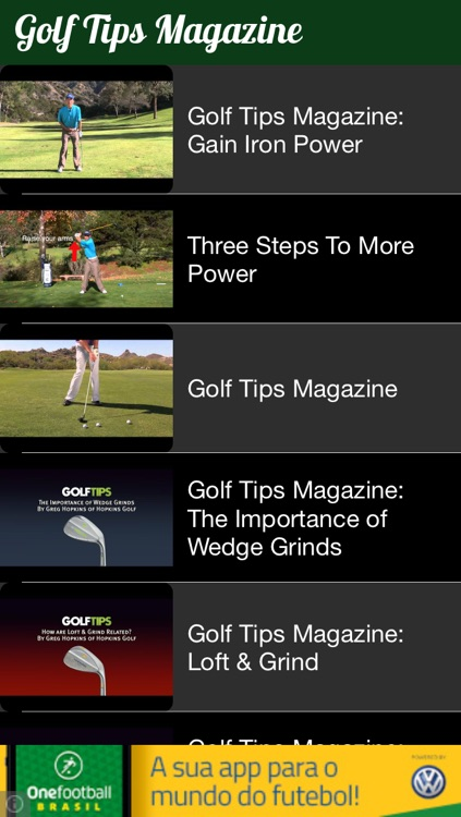 Golf News Pro screenshot-4