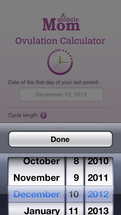 Ovulation Calculator & Fertility Tracker screenshot-2