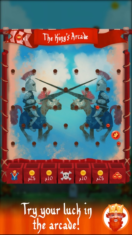 The King vs. Knights, Vikings, Wizards & other Scoundrels screenshot-4